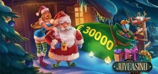 Декабрьские сюрпризы в онлайн казино JoyCasino
