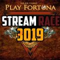 Гонка стримеров Stream Race 3019 в казино Плейфортуна